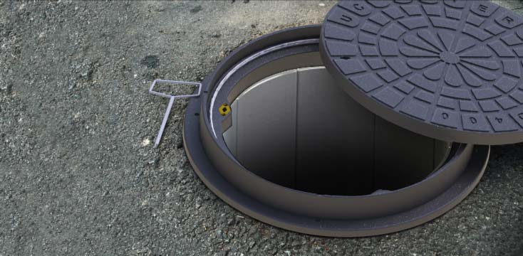 industrial design manhole cover